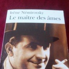 Libros de segunda mano: LE MAÎTRE DES ÂMES. Lote 220917810
