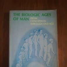 Libros de segunda mano: THE BIOLOGIC AGES OF MAN. FROM CONCEPTION THROUGH OLD AGE. SMITH AND BIERMAN. 1973.. Lote 221160195