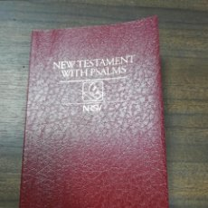 Libros de segunda mano: THE NEW TESTAMENT AND PSALS. NEW REVISED STANDARD VERSION. 1989.. Lote 221230530
