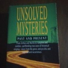Libros de segunda mano: UNSOLVED MYSTERIES. PAST AND PRESENT. COLLIN WILSON AND DAMON WILSON. HEALDINE. 1993.. Lote 221510845