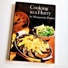 Libros de segunda mano: 1973 LIBRO COOKING IN A HURRY - 17 X 24.CM. Lote 221615135