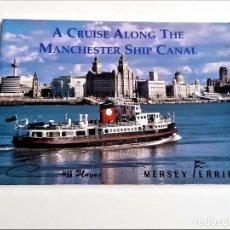 Libros de segunda mano: LIBRO A CRUISE ALONG THE MANCHESTER SHIP CANAL - 21 X 15.CM. Lote 221616006