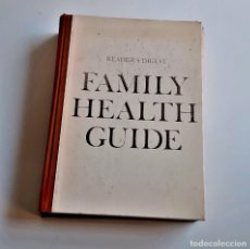 Libros de segunda mano: 1972 LIBRO FAMILY HEALTH GUIDE - 18 X 25.CM. Lote 221617495