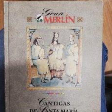 Libros de segunda mano: CANTIGAS DE SANTA MARÍA. BERNARDINO GRAÑA. 1 EDICIÓN. Lote 221618687