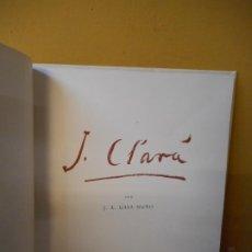 Libros de segunda mano: J. CLARA. J.A. GAYA NUÑO. BARCELONA MCMXLVIII.. Lote 221744701