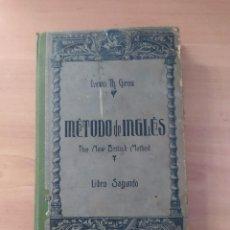 Libros de segunda mano: MÉTODO DE INGLÉS. Lote 221842936