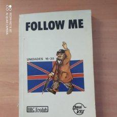 Libros de segunda mano: FOLLOW ME. Lote 221859001