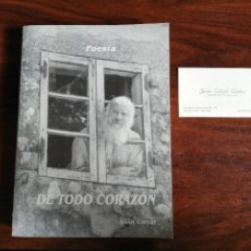 Libros de segunda mano: DE TODO CORAZÓN. XOÁN CORRAL (EN GALEGO). Lote 221919675
