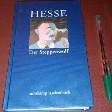Livres d'occasion: DER STEPPENWOLF HERMANN HESSE SUHRKAMP TASCHENBUCH DEUSTCHE SPRACHE ALEMÁN. Lote 222082382