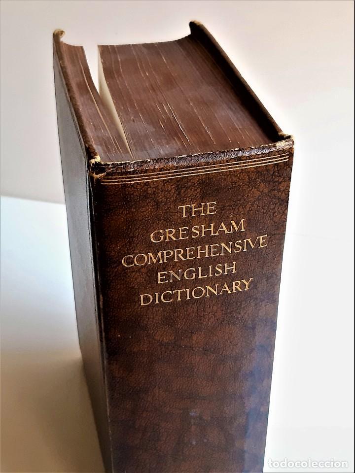 1935 LIBRO THE GRESHAM COMPREHENSIVE DICTIONARY - 17 X 24 X 7.CM (Libros de Segunda Mano - Otros Idiomas)