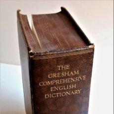 Libros de segunda mano: 1935 LIBRO THE GRESHAM COMPREHENSIVE DICTIONARY - 17 X 24 X 7.CM. Lote 222085317