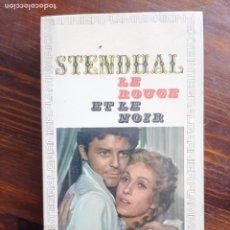 Libros de segunda mano: STENDHAL/ LE ROUGE ET LE NOIRE/1964. Lote 222120496