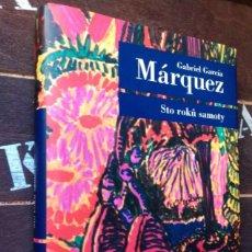 Libros de segunda mano: GABRIEL GARCÍA MÁRQUEZ: CIEN AÑOS DE SOLEDAD (IDIOMA: CHECO). Lote 222147062