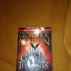 Libros de segunda mano: GAMES OF TRONES GEORGE RR MARTIN. Lote 222185713