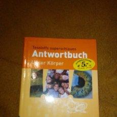 Libros de segunda mano: ANTWORTBUCH USER KÖRPER. Lote 222186392