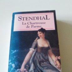 Libros de segunda mano: STENDHAL LA CHARTREUSE DE PARME ( 1993 CLASSIQUES FRANCAIS ) 500 PAGINAS. Lote 222216153