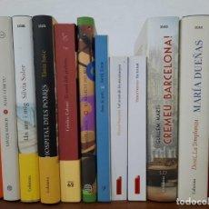 Libros de segunda mano: LOT 12 LLIBRES EN CATALÀ (ALGU COM TU, CREMEU BARCELONA, UN ANY I MIG, L'AGUILA NEGRA...). Lote 222401441