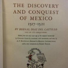 Libros de segunda mano: THE DISCOVERY AND CONQUEST OF MEXICO, 1517-1521. BERNAL DÍAZ DEL CASTILLO. THE LIMITED EDITIONS CLUB. Lote 222793447