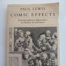 Libros de segunda mano: COMIC EFFECTS. PAUL LEWIS. Lote 222863828