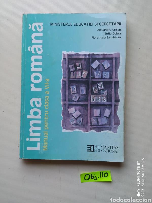 LIMBA ROMÂNÁ (Libros de Segunda Mano - Otros Idiomas)