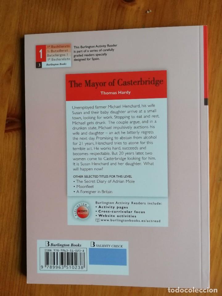 Libros de segunda mano: The Mayor of Casterbridge - Foto 2 - 224170142