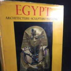 Libros de segunda mano: EGYPT: ARCHITECTURE, SCULPTURE, PAINTING IN THREE THOUSAND YEARS. PHAIDON, LONDON, 1961. Lote 224210470