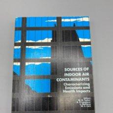 Libros de segunda mano: SOURCES OF INDOOR AINR CONTAMINANTS. NEW YORK ACADEMY OF SCIENCES. NEW YORK, 1992. PAGS:329. Lote 224218621