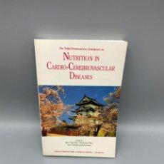 Libros de segunda mano: NUTRITION IN CARDIO-CEREBROVASCULAR DISEASES. NEW YORK ACADEMY SCIENCES. NEW YORK, 1993. PAGS:370. Lote 224218898