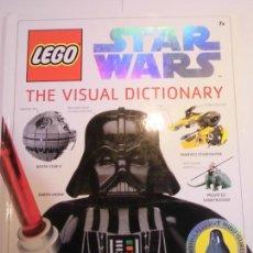 Libros de segunda mano: LEGO STAR WARS - THE VISUAL DICTIONARY - INGLES. Lote 224650716