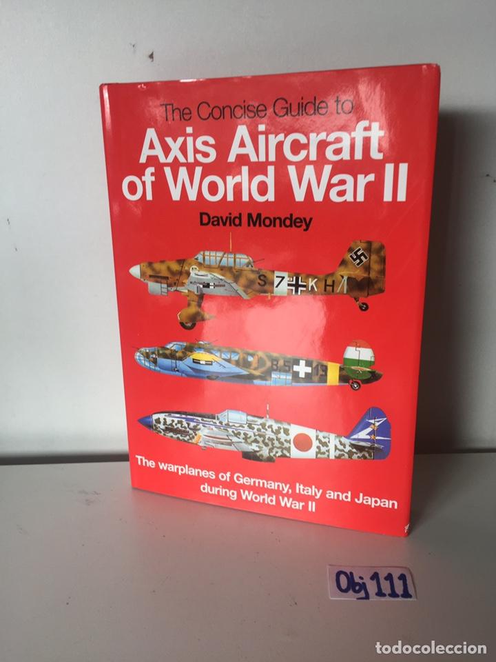 Libros de segunda mano: Axis Aircraft: - Foto 2 - 224667693