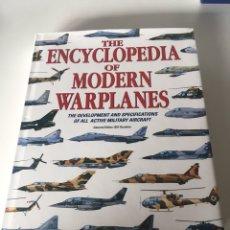 Libros de segunda mano: THE ENCYCLOPEDIA OF MODERN WARPLANES:. Lote 224667992