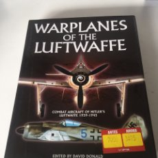 Libros de segunda mano: WARPLANES OF THE LUFTWAFFE. Lote 262005720