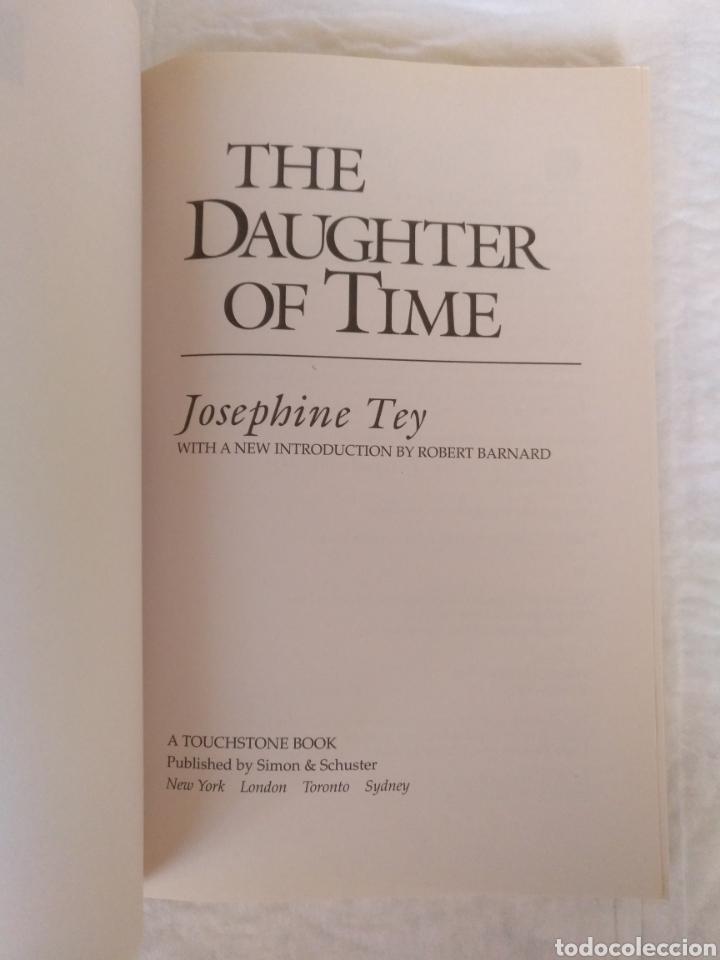 Libros de segunda mano: The daughter of time. Josephine Tey. Introduction by Robert Barnard. A touchstone book. Libro - Foto 2 - 225157300