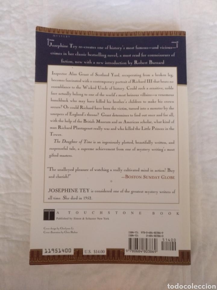 Libros de segunda mano: The daughter of time. Josephine Tey. Introduction by Robert Barnard. A touchstone book. Libro - Foto 9 - 225157300