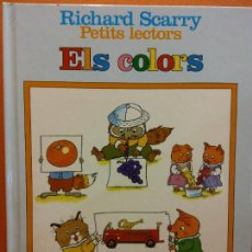 Livres d'occasion: ELS COLORS. RICHARD SCARRY. EDITORIAL PLANETA. Lote 225308405