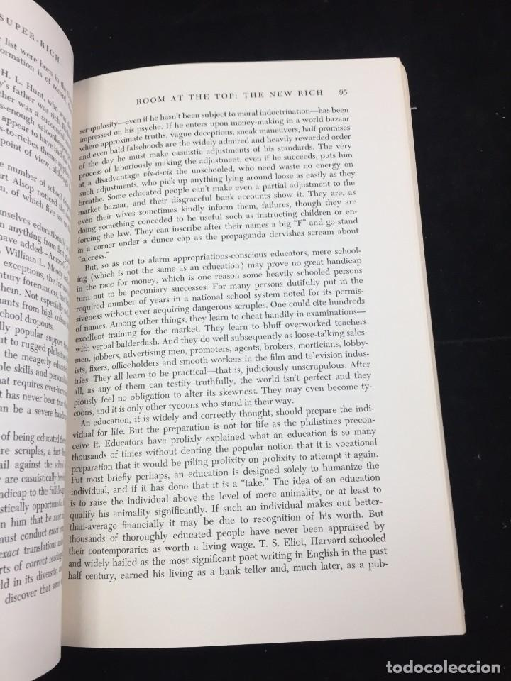 Libros de segunda mano: THE RICH AND THE SUPER-RICH A STUDY IN THE POWER OF MONEY TODAY Ferdinand Lundberg. 1968 - Foto 9 - 225319210