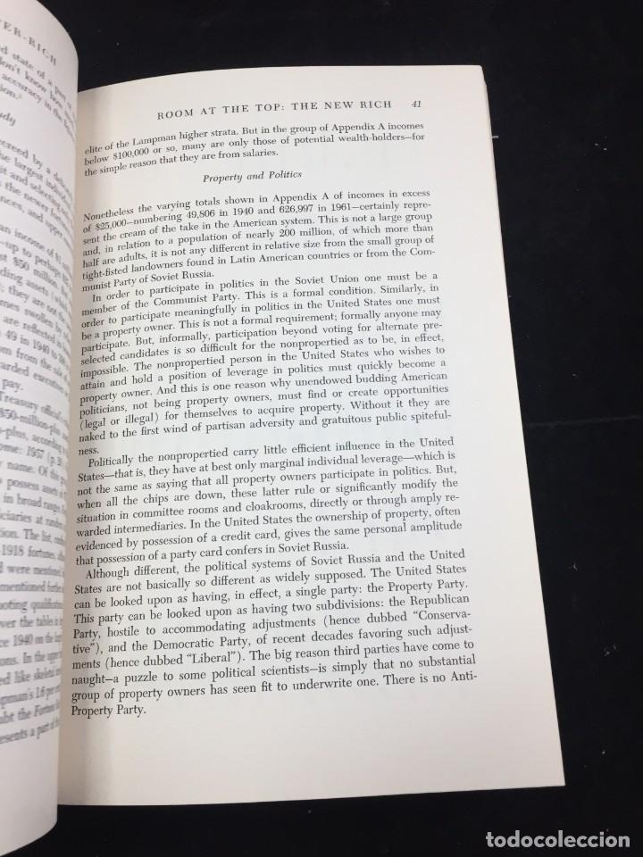 Libros de segunda mano: THE RICH AND THE SUPER-RICH A STUDY IN THE POWER OF MONEY TODAY Ferdinand Lundberg. 1968 - Foto 10 - 225319210