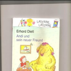 Libros de segunda mano: 2594. ERHARD DIETL. ANDI UND SEIN NEUER FREUND. Lote 225635245