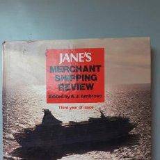 Libros de segunda mano: JANE'S MERCHANT SHIPPING REWIEW. Lote 227015721