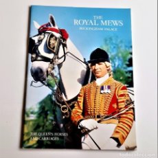 Livres d'occasion: 1979 LIBRO THE ROYAL MEWS BUCKINGHAM PALACE - 18 X 25.CM. Lote 227268745