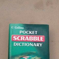 Libros de segunda mano: POCKET SCRABBLE DICTIONARY (COLLINS). Lote 227680380