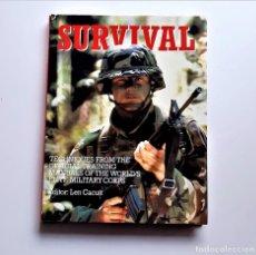 Libros de segunda mano: 1989 LIBRO SURVIVAL - 22 X 28.CM. Lote 244615720