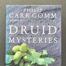 Libros de segunda mano: DRUID MYSTERIES. ANCIENT WISDOM FOR THE 21ST CENTURY (CULTURA CELTA). Lote 230037895