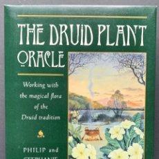 Libros de segunda mano: THE DRUID PLANT ORACLE. CON CARTAS. (CULTURA CELTA, RUNAS). Lote 230039115