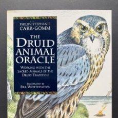 Libros de segunda mano: THE DRUID ANIMAL ORACLE. CON CARTAS (CULTURA CELTA). Lote 230039295