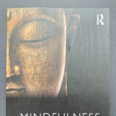 Libros de segunda mano: MINDFULNESS. DIVERSE PERSPECTIVES ON ITS MEANING. Lote 230039950
