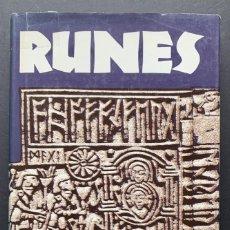 Libros de segunda mano: RUNES (CULTURA CELTA, RUNAS). Lote 230041135