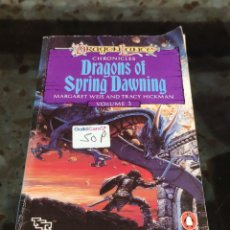 Libri di seconda mano: DRAGON LANCE: DRAGONS OF SPRING DAWNING VOL 3 (MARGARET WEIS AND TRACY HICKMAN). Lote 230107935