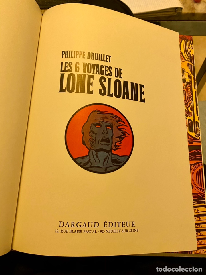"""Libros de segunda mano: Philippe Bruillet """"Les 6 voyages de Lone Sloane"""" 1972 - Foto 7 - 230268765"""
