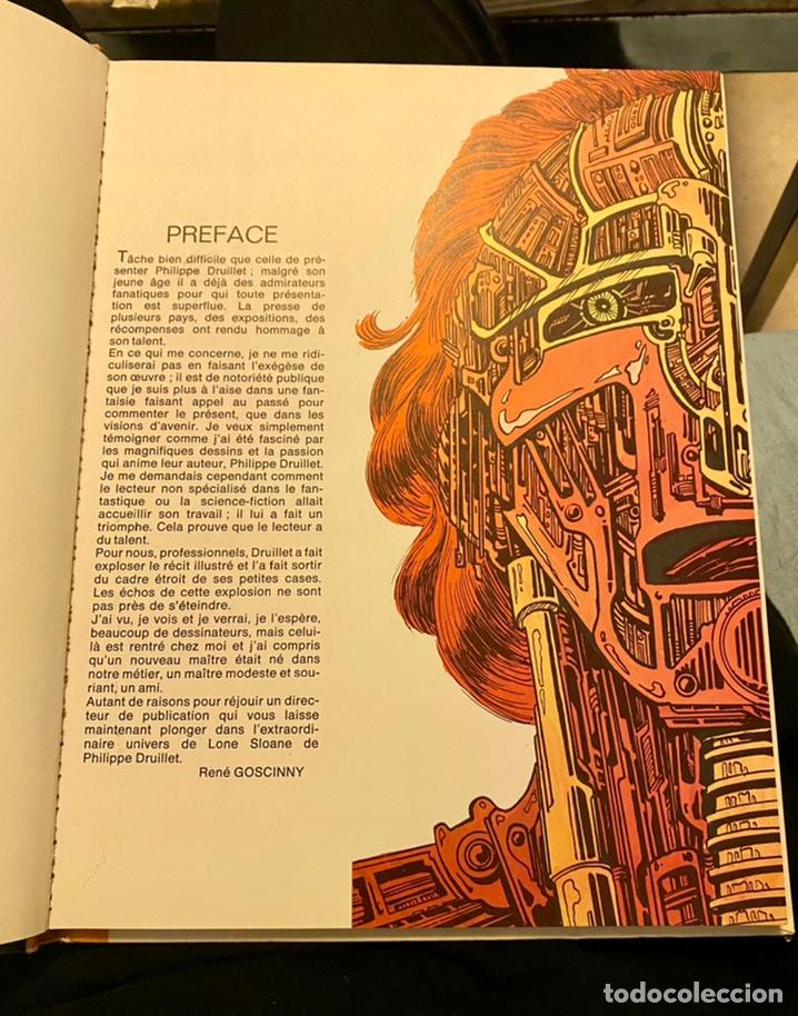 """Libros de segunda mano: Philippe Bruillet """"Les 6 voyages de Lone Sloane"""" 1972 - Foto 9 - 230268765"""